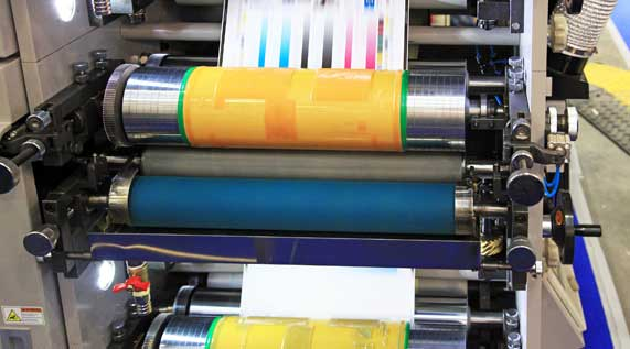 industrial flexographic printer